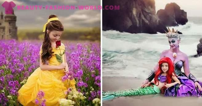 Ibu Dan Anak Perempuan Menakluki Puteri Pakaian Internet Disney
